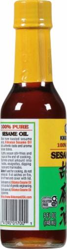 Kikkoman 100% Pure Sesame Oil Perspective: left