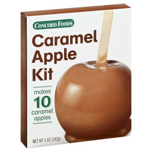Concord Foods Caramel Apple Kit Perspective: left
