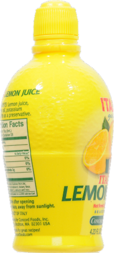 Italia Lemon Juice Perspective: left