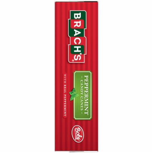 Brach's® Peppermint Candy Canes Perspective: left