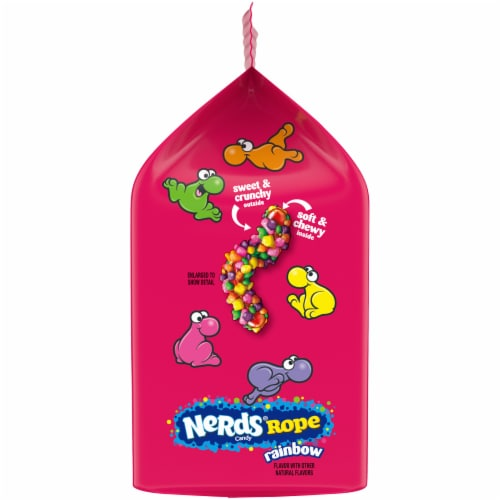 Nerds Rope Candy Perspective: left