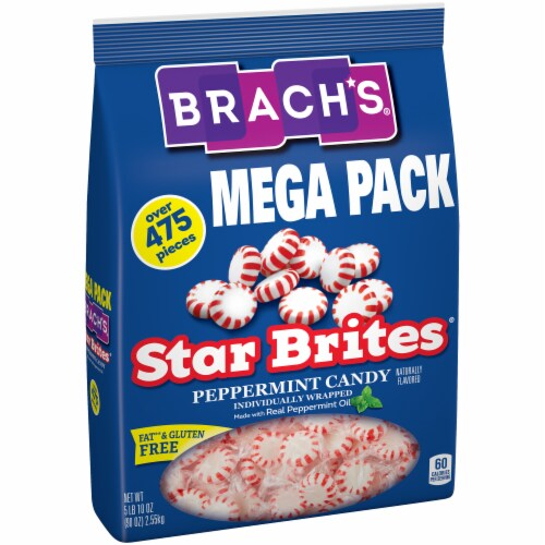 Brach's® Star Brites Mega Pack Peppermint Candy Perspective: left
