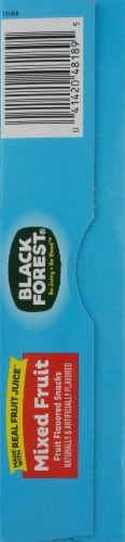 Black Forest Juicy Burst Mixed Fruit Flavored Snacks Perspective: left