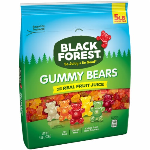 Black Forest Gummy Bears Perspective: left