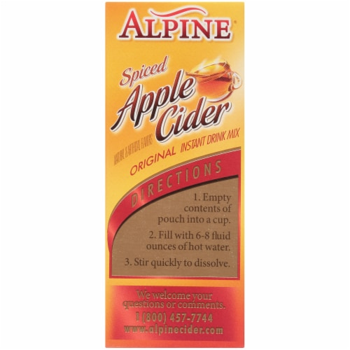 Alpine Spiced Apple Cider Mix Perspective: left