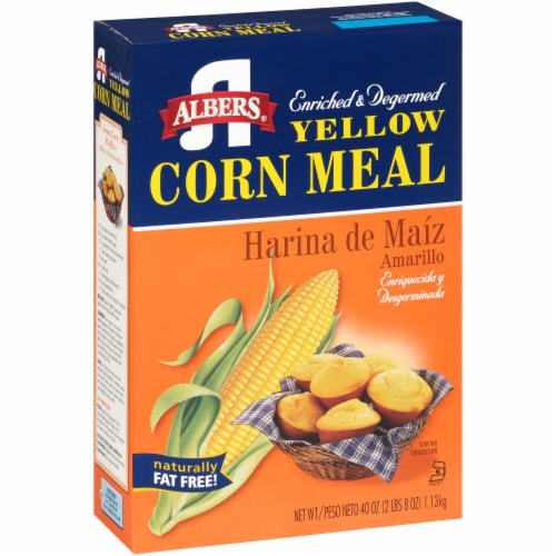 Albers Yellow Corn Meal Mix Perspective: left