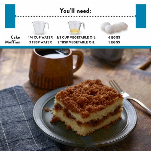 Krusteaz Gluten Free Cinnamon Swirl Crumb Cake and Muffin Mix Perspective: left