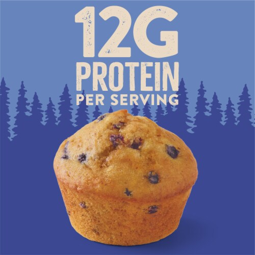 Krusteaz Protein Wild Blueberry Muffin Mix Perspective: left