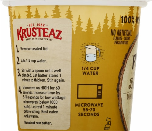 Krusteaz Protein Banana Nut Muffin Mix Perspective: left