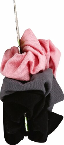 Goody Sustainable Rouched Scrunchies Perspective: left