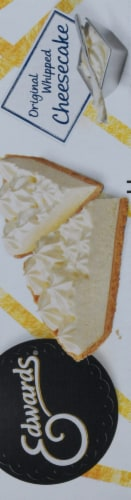 Edwards Original Whipped Cheesecake Slices 2 Count Perspective: left