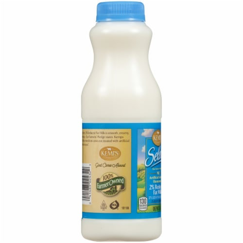 Kemps Select 2% Reduced Fat Milk Perspective: left