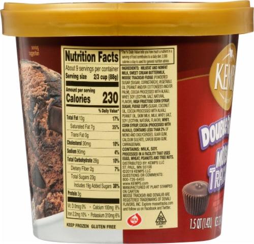 Kemps® Double Fudge Moose Tracks Ice Cream Perspective: left