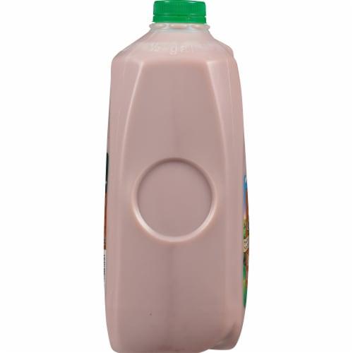 Kemps Select 1% Lowfat Chocolate Milk Perspective: left