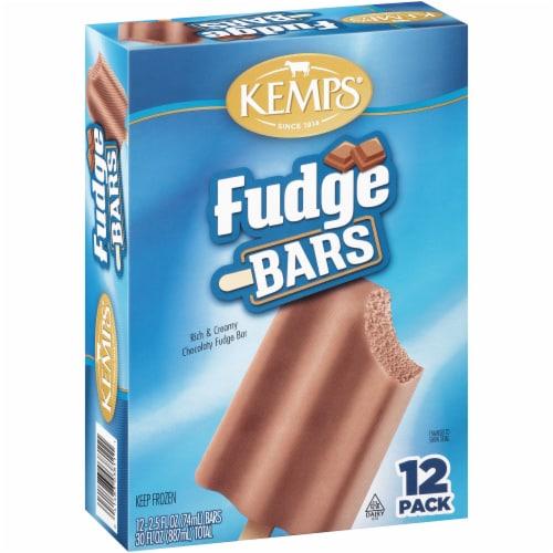 Kemps Fudge Bars 12 Count Perspective: left