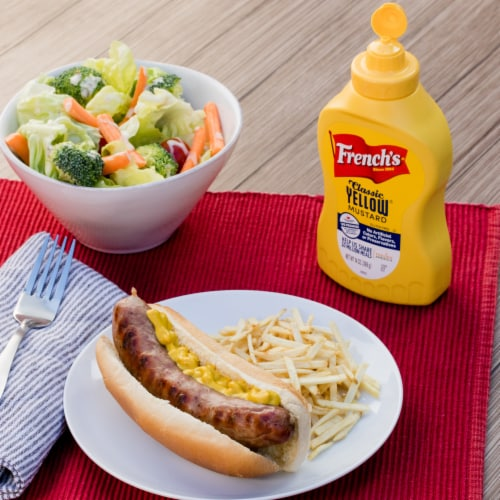 French's Classic Yellow Mustard Perspective: left