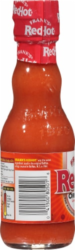 Frank's RedHot Cayenne Pepper Sauce Perspective: left