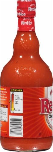 Frank's RedHot Original Hot Sauce Perspective: left
