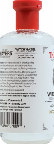 Thayers Coconut Water Witch Hazel Facial Toner Perspective: left