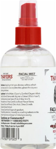 Thayers Rose Petal and Witch Hazel Facial Mist Perspective: left