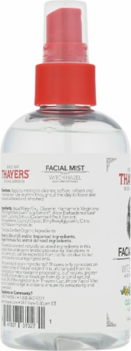 Thayers Aloe Vera & Cucumber Witch Hazel Facial Mist Perspective: left