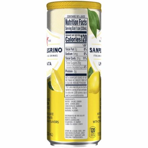 San Pellegrino Sparkling Lemon Beverage Perspective: left