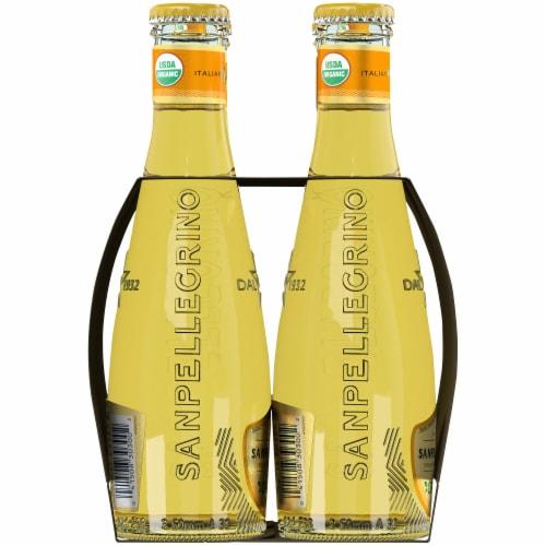 Sanpellegrino Organic Limonata Sparkling Lemon Beverage Perspective: left