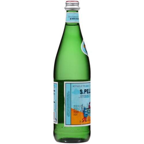 San Pellegrino Sparkling Natural Mineral Water Perspective: left
