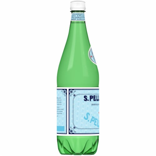 S.Pellegrino Sparkling Natural Mineral Water Perspective: left