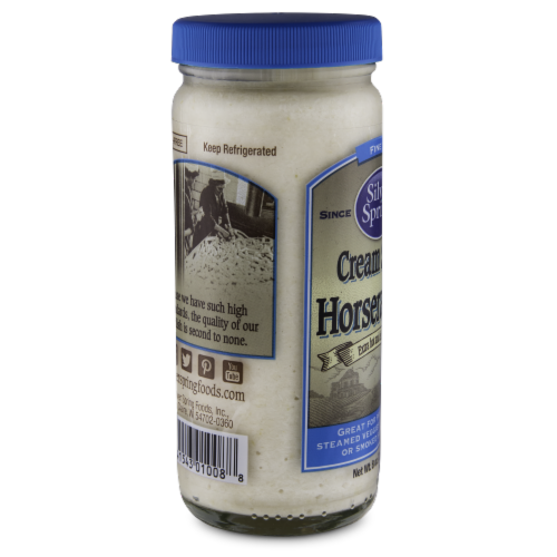 Silver Spring Cream Style Horseradich Sauce Perspective: left