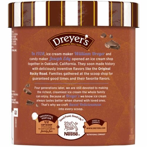Dreyer's Chocolate Chip Ice Cream Perspective: left