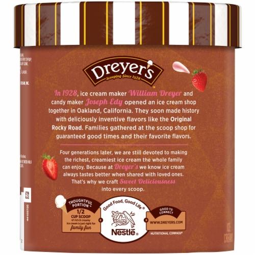 Dreyer's Strawberry Ice Cream Perspective: left