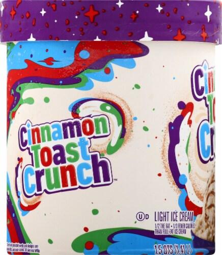 Cinnamon Toast Crunch Light Ice Cream Perspective: left