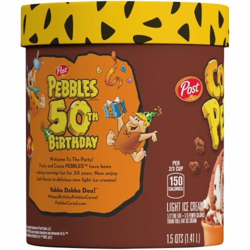 Cocoa Pebbles Ice Cream Perspective: left