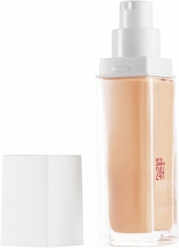 Maybelline Superstay 24-Hour Full Coverage 120 Classic Ivory Liquid Foundation Perspective: left
