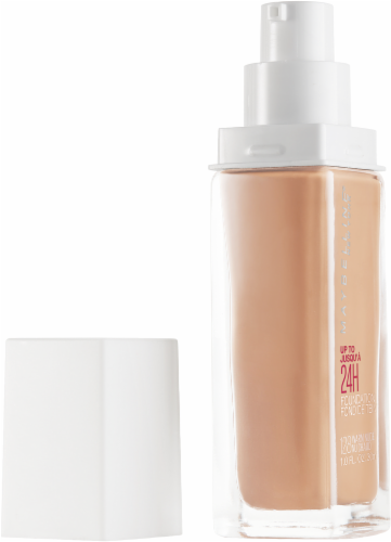 Maybelline Superstay Warm Nude Full Coverage Liquid Foundation Perspective: left