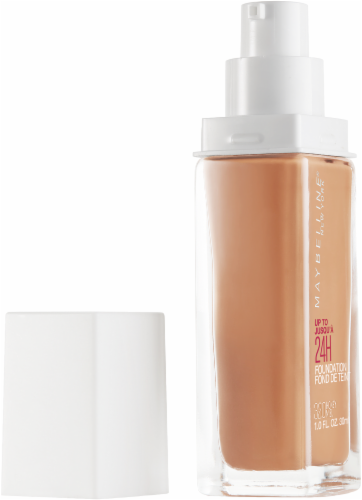 Maybelline Superstay 24-Hour Full Coverage 320 Honey Liquid Foundation Perspective: left