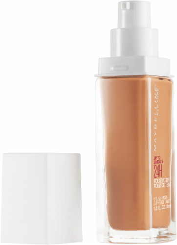 Maybelline Superstay Warm Sun Full Coverage Liquid Foundation Perspective: left
