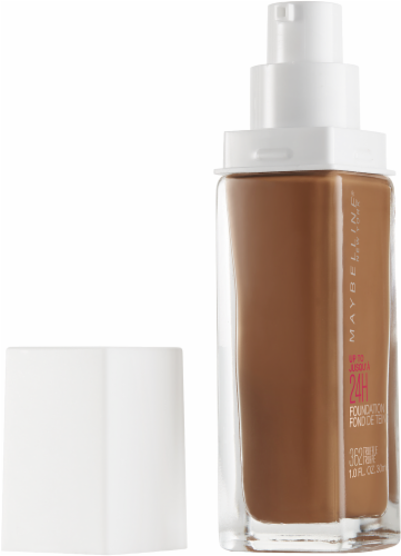 Maybelline Superstay Truffle Full Coverage Liquid Foundation Perspective: left