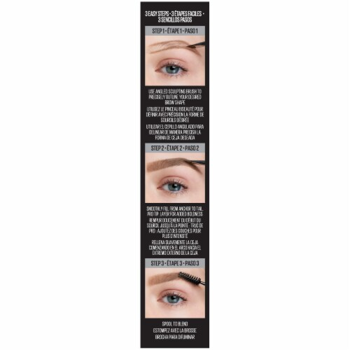 Maybelline Tattoo Studio Ash Brown 378 Brow Pomade Perspective: left