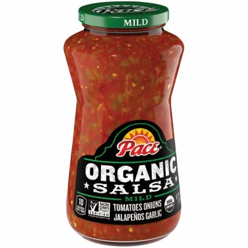Pace Organic Mild Salsa Perspective: left