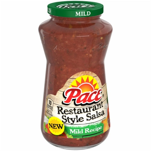 Pace Restaurant Style Mild Salsa Perspective: left