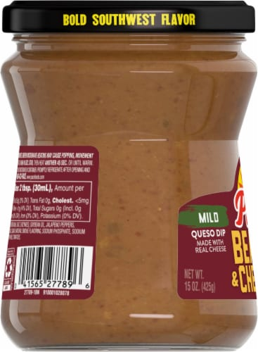 Pace Mild Bean and Cheese Dip Perspective: left