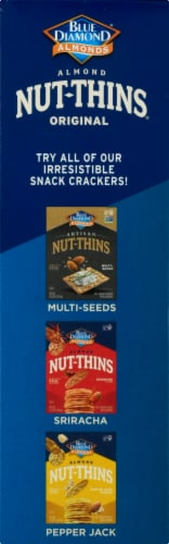 Blue Diamond Almond Nut-Thins Crackers Perspective: left