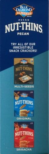 Blue Diamond Pecan Nut-Thins Crackers Perspective: left