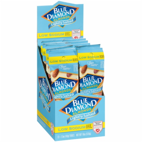 Blue Diamond Lightly Salted Almonds Perspective: left