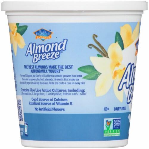 Blue Diamond Almond Breeze Vanilla Almondmilk Yogurt Alternative Perspective: left