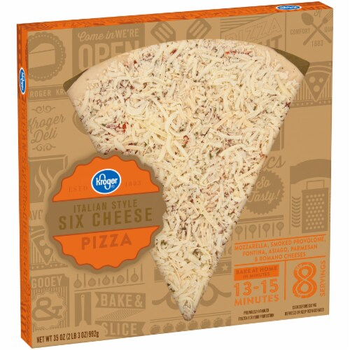 Kroger® Italian Style Six Cheese Pizza Perspective: left