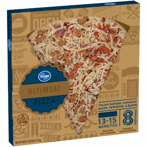 Kroger® Ultimeat Pizza Perspective: left
