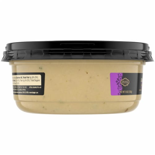 Private Selection® Roasted Garlic Hummus Perspective: left